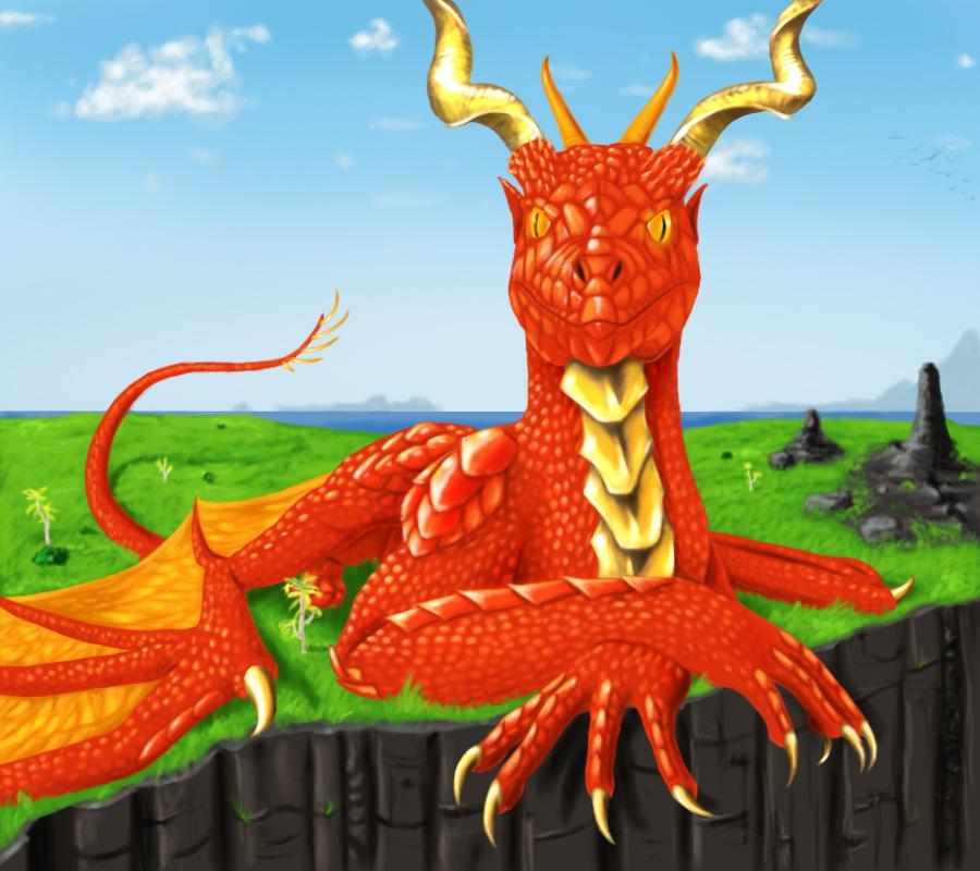 Dragon's Paradise by shadowfire-x