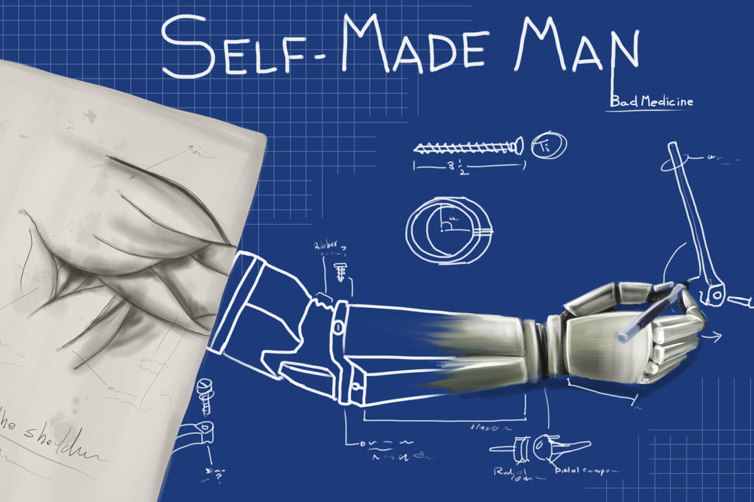 Self-made Man Cover by shadowfire-x