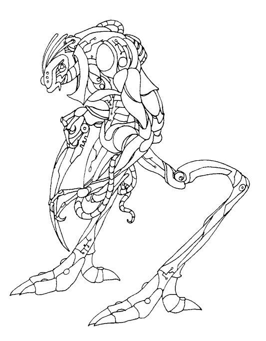 Line Art Robot : Robot lineart by shadowfire on deviantart