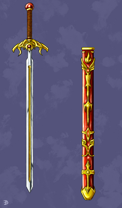 A Sword Fit for a King by shadowfire-x