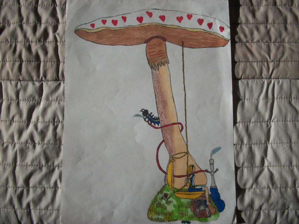Alice In Wonderland Tree-swing by Xindi71