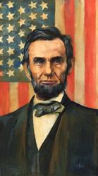 Abe Lincoln Portrait