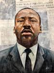 Portrait  Martin Luther King Jr.