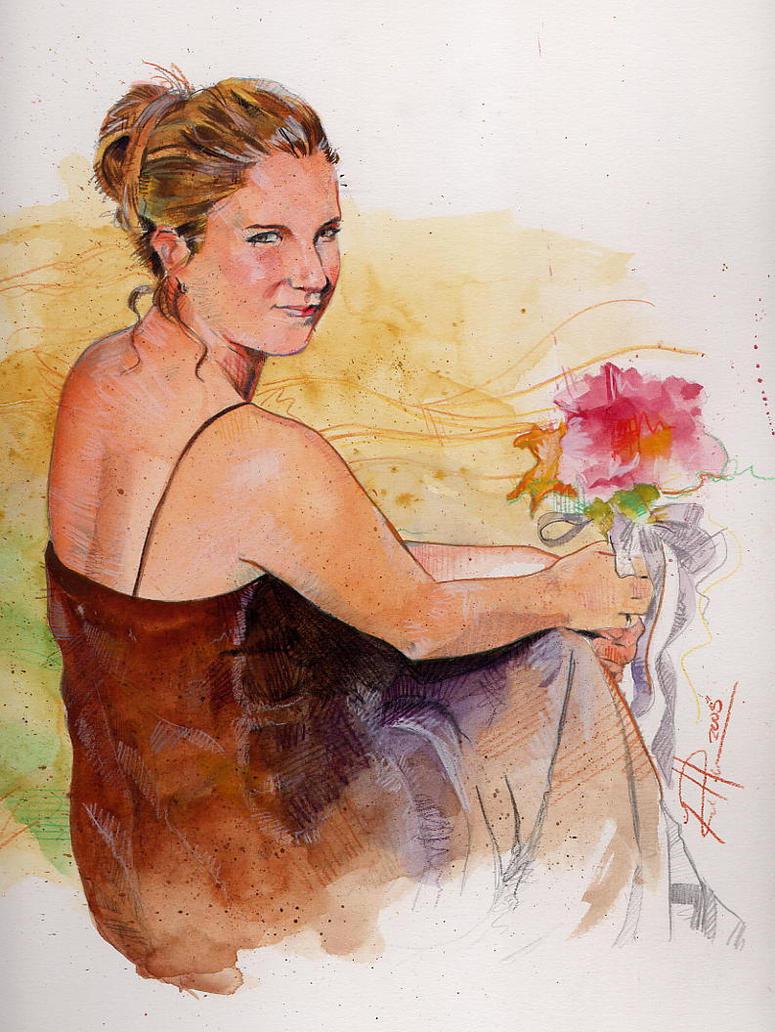 Random portrait by RobHough