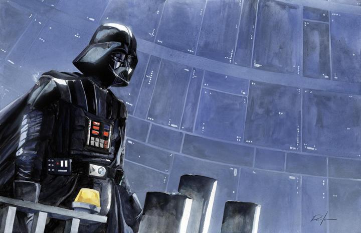 Darth Vader by RobHough