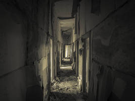 Narrow Hallway by EasternExploration