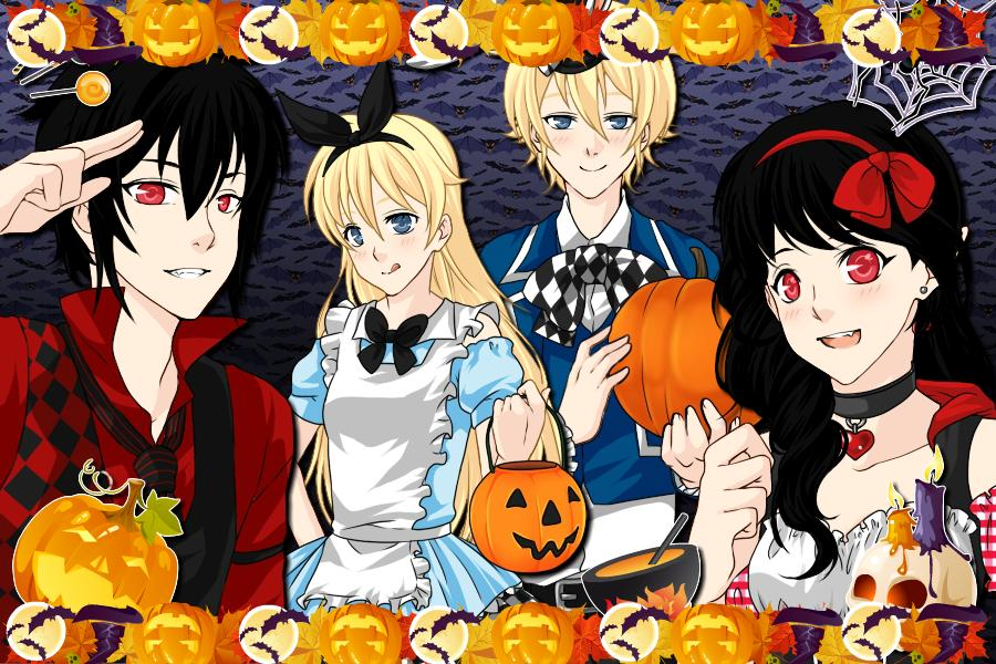 Adventure Time Anime Halloween By Alexmoreno98 On DeviantArt