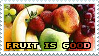 Fruit is Good Stamp by CheesecakeStamps
