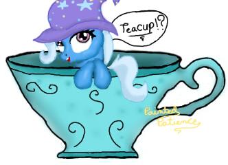 Teacup Trixie by PaintedPatience