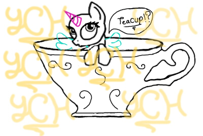 YCH teacup  selling by PaintedPatience
