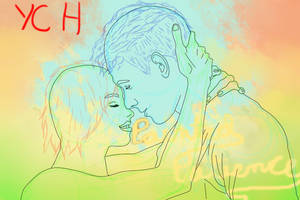Autumn Love Ych(open)start bid 10usd