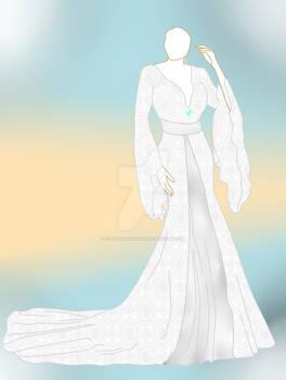 Outfit Adopt 3(open) wedding dress