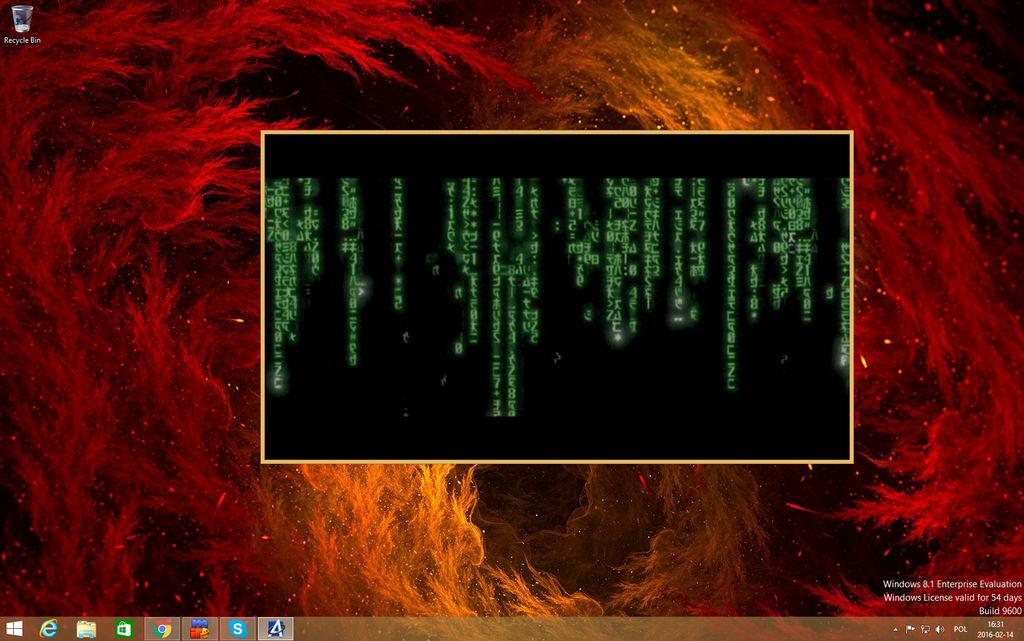Matrix Film Intro.