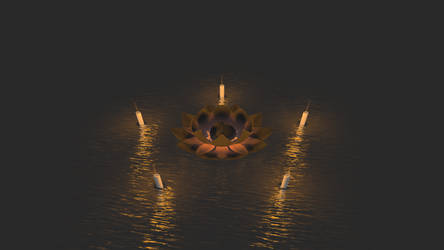 Wind, Fire, Lotus 'n' Mud. by neo-mahakala-108