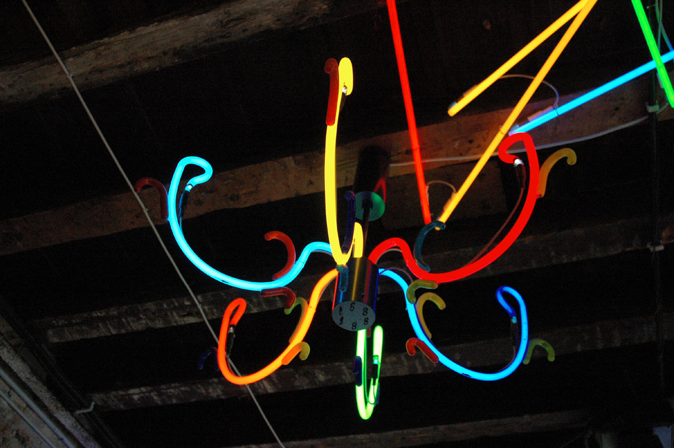 Neon Chandelier by Tricky Guy21 on DeviantArt