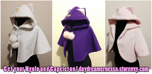 Handmade hoodies and capelets