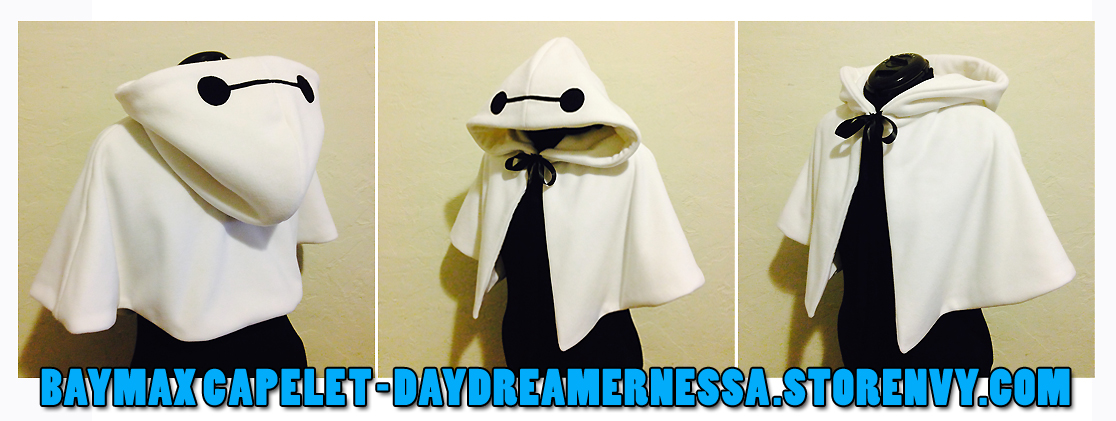 Baymax Capelet by daydreamernessa
