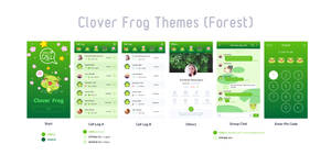 Clover Frog UI Theme for WorldCalls