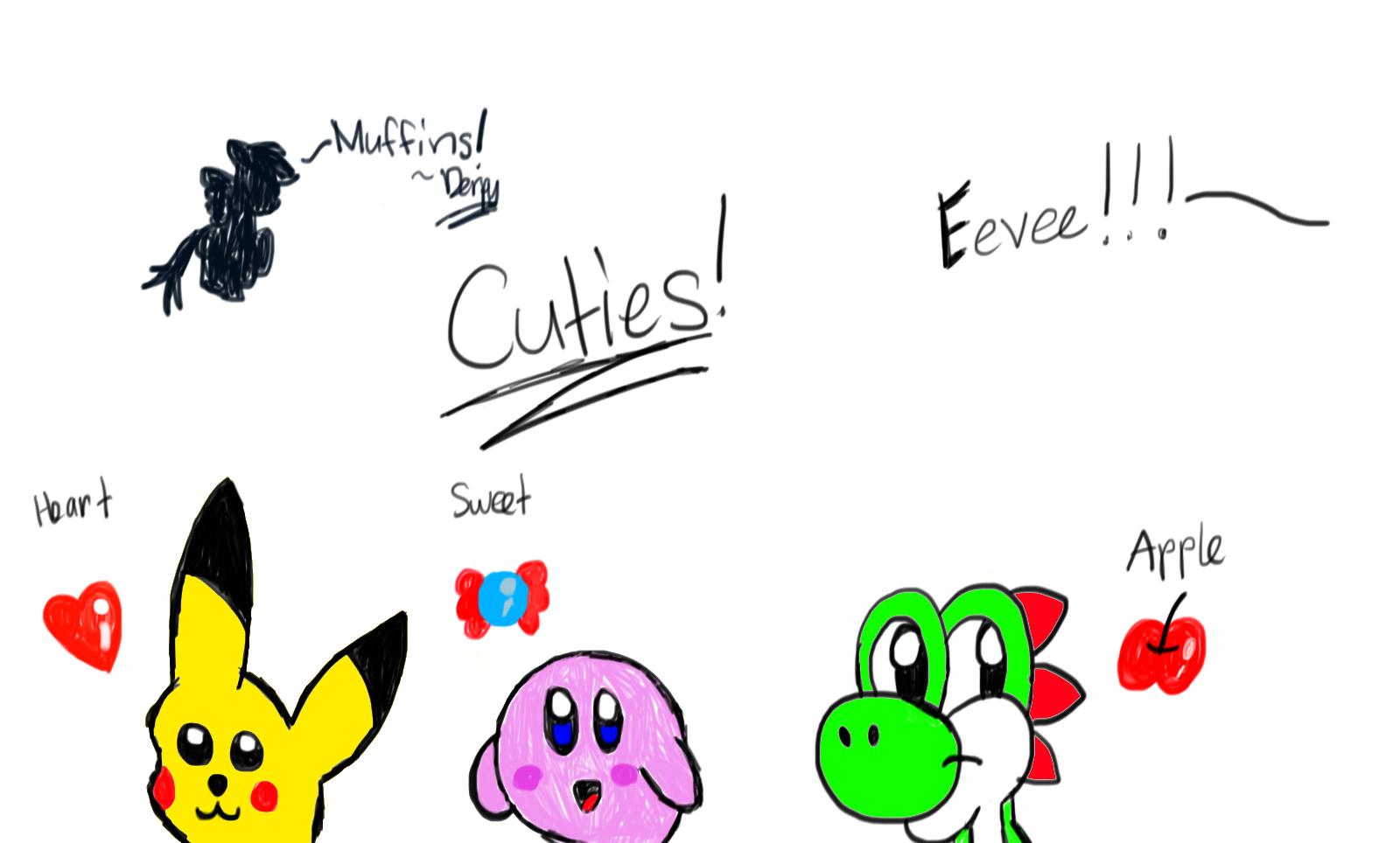 Cute Characters by Riyana2