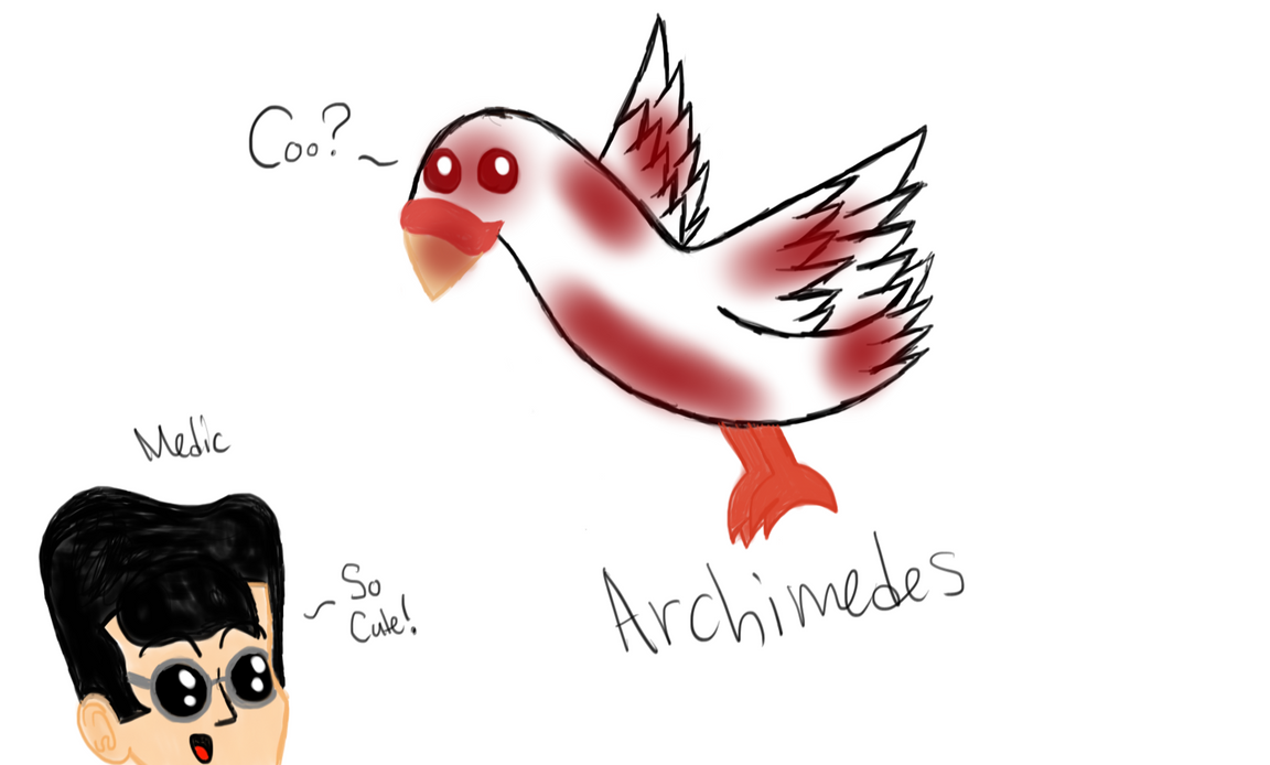 Archimedes by Riyana2