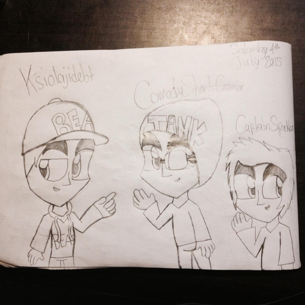 YouTubers Part 4 by Riyana2