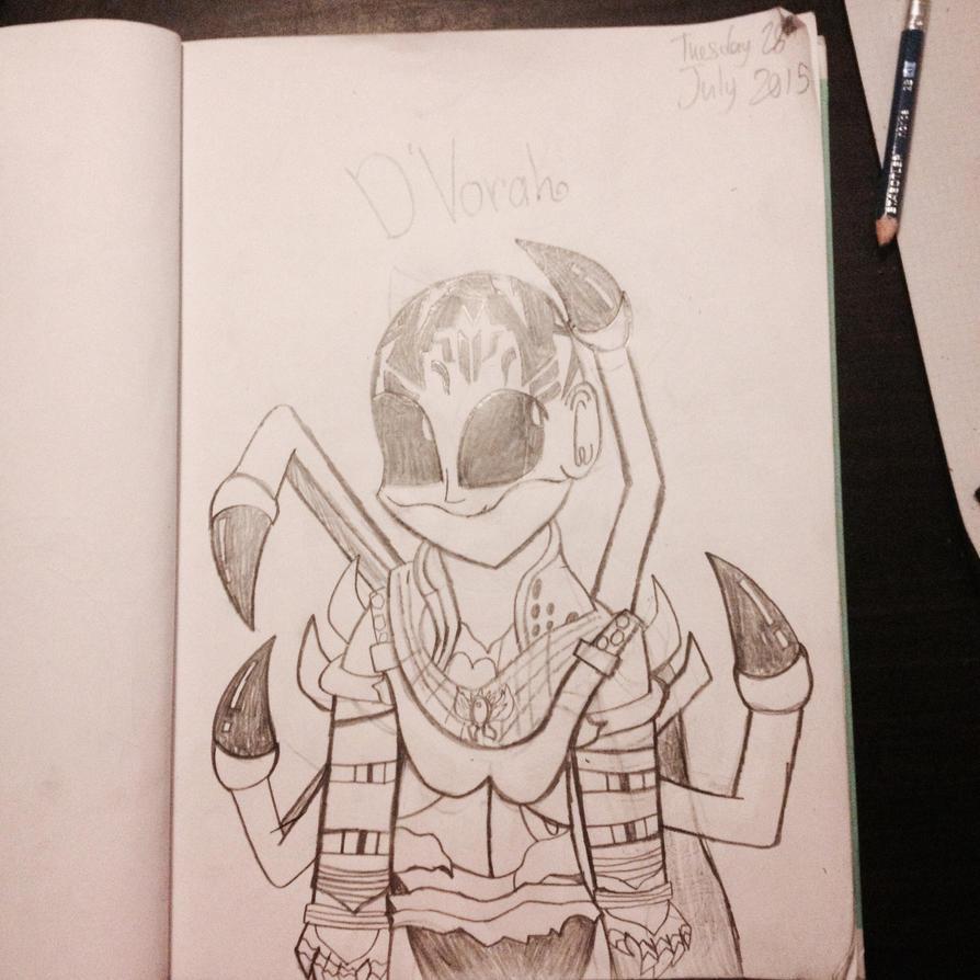 D'Vorah by Riyana2