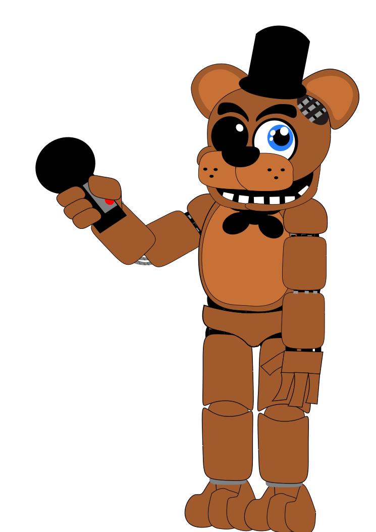 Freddy Fazbear by Riyana2