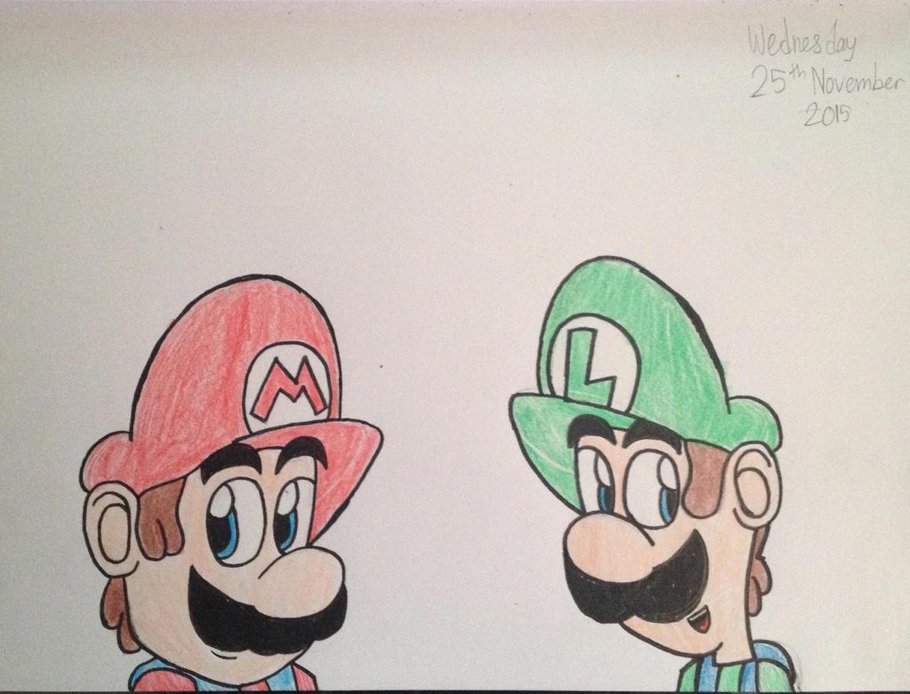 Mario and Luigi by Riyana2