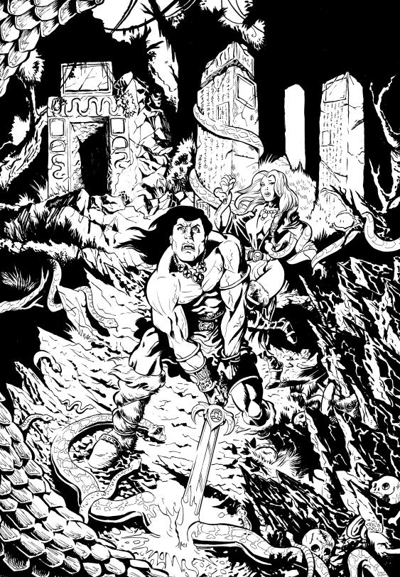 Conan by LuigiCrisc