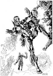 Cyborg by LuigiCrisc