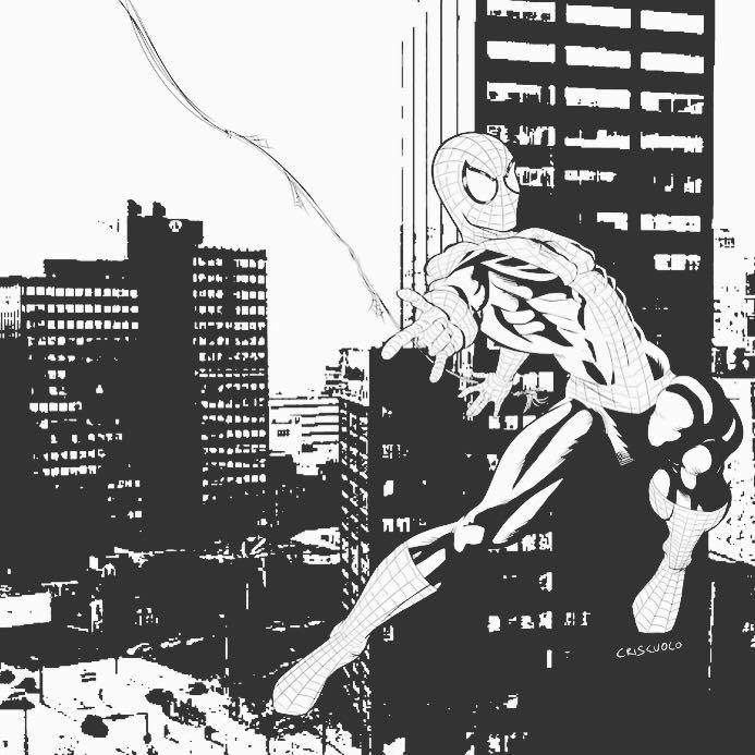 spiderman commission by LuigiCrisc