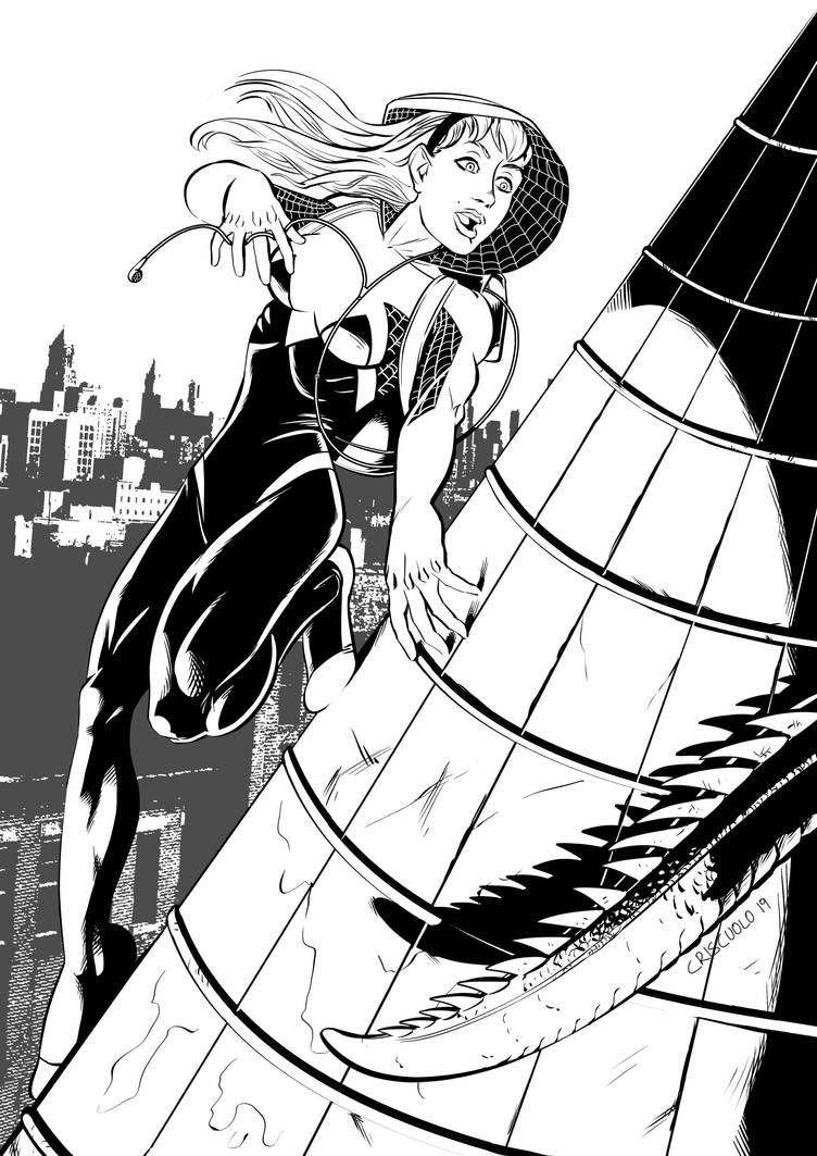 Spider Gwen Stacy by LuigiCrisc