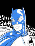 Batman 1966 by LuigiCrisc