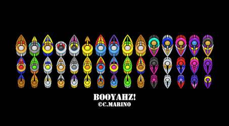 DARKSTALKERS CAPCOM BOOYAHZ POP ART PRINT by CORY-MARINO