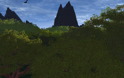 Rendered Forest