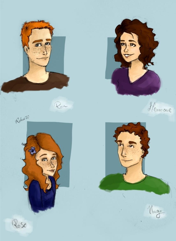 Weasley family by Elderberry-bb on DeviantArt