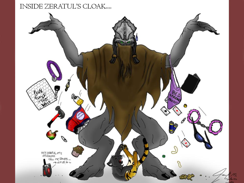 Zeratul's Stuff by WeisseEdelweiss