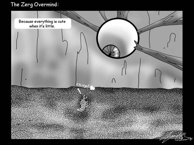 Zerg Overmind EyeZerg Overmind Eye
