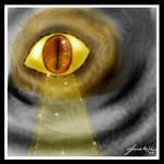 Reptilian All Seeing Eye