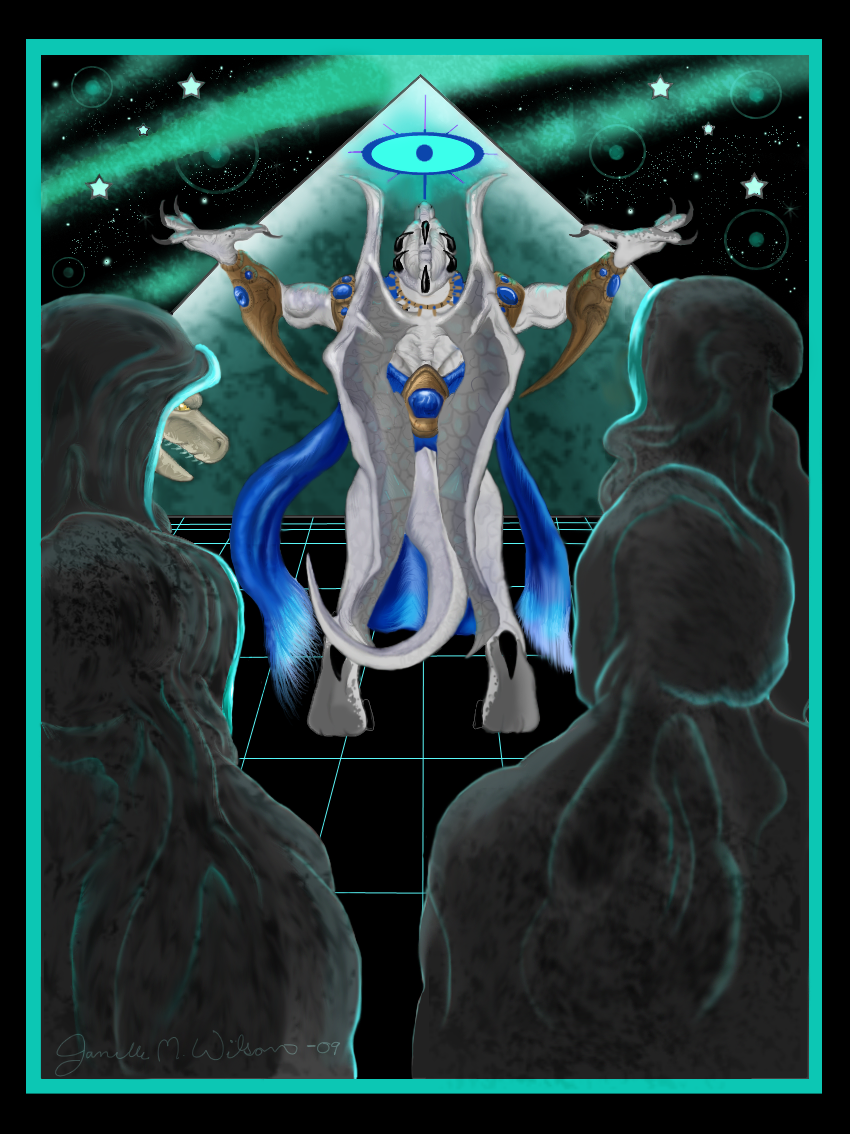 Draconian King Anu Is Summoned