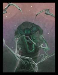 Abathur Zerg Evolution Master by WeisseEdelweiss