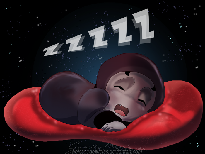 Kilis Sleeping 111712 by WeisseEdelweiss