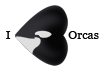 I Heart Orcas by WeisseEdelweiss
