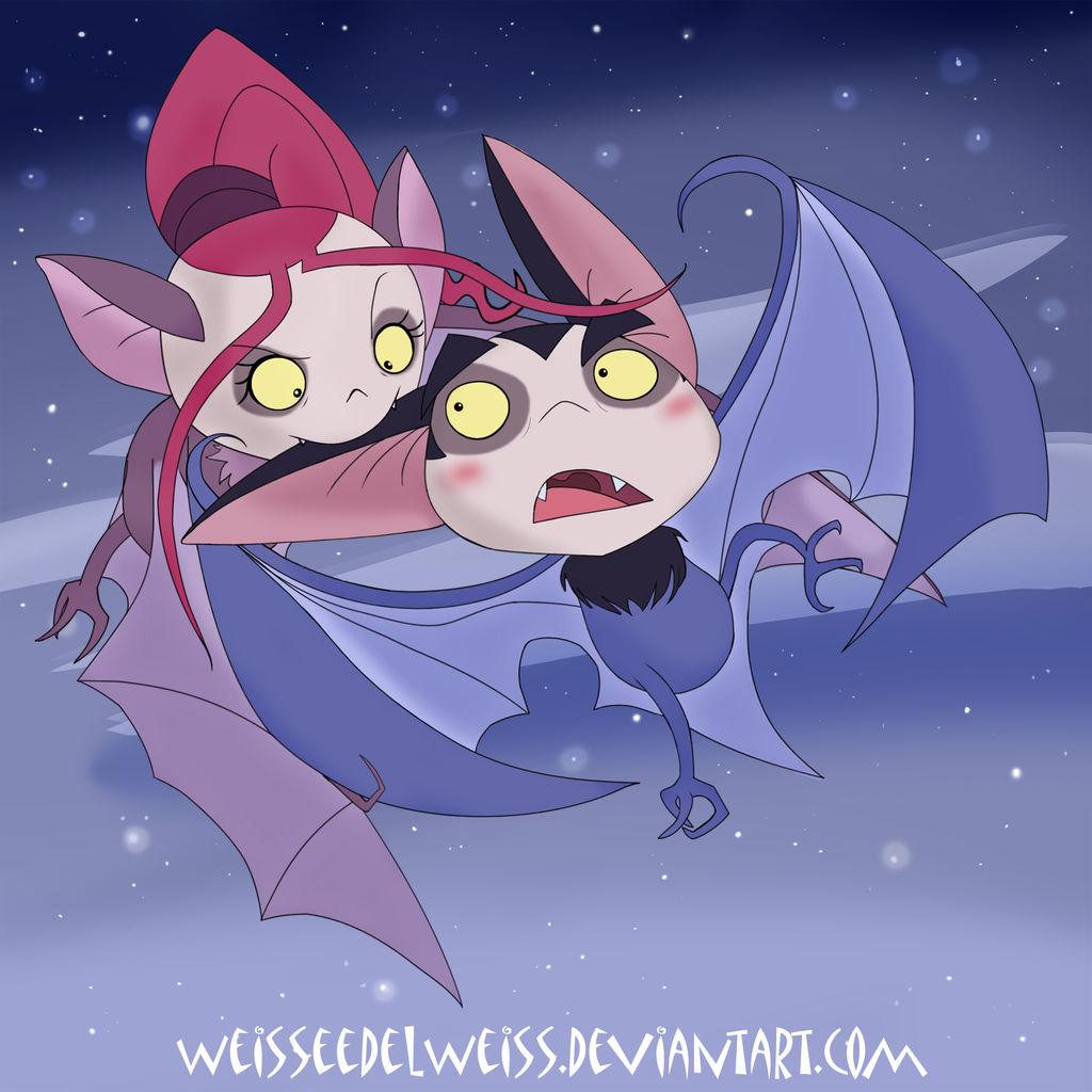 Gothetta and Stoker Playful Bats