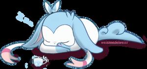 Pokemon Shiny Sylveon Sleeps