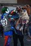 Punk Joker and Metal Scarecrow