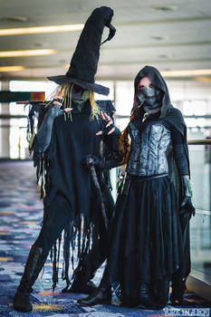Scarecrow and Mistress of Fear, Tim Sale versions