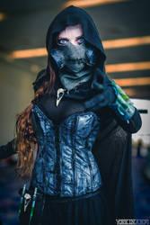 Mistress of Fear - Tim Sale version by beckyalbright