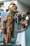 Scarecrow and Mistress of Fear at SDCC