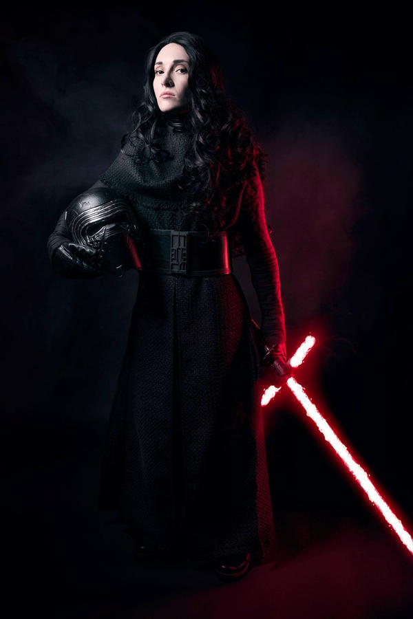 Fem Kylo Ren by beckyalbright